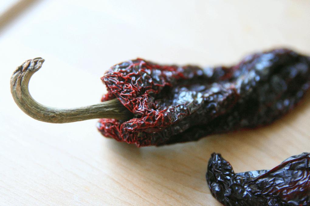 Ancho chili dried