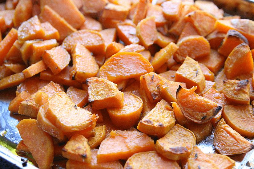 Savory Roasted Sweet Potato Casserole