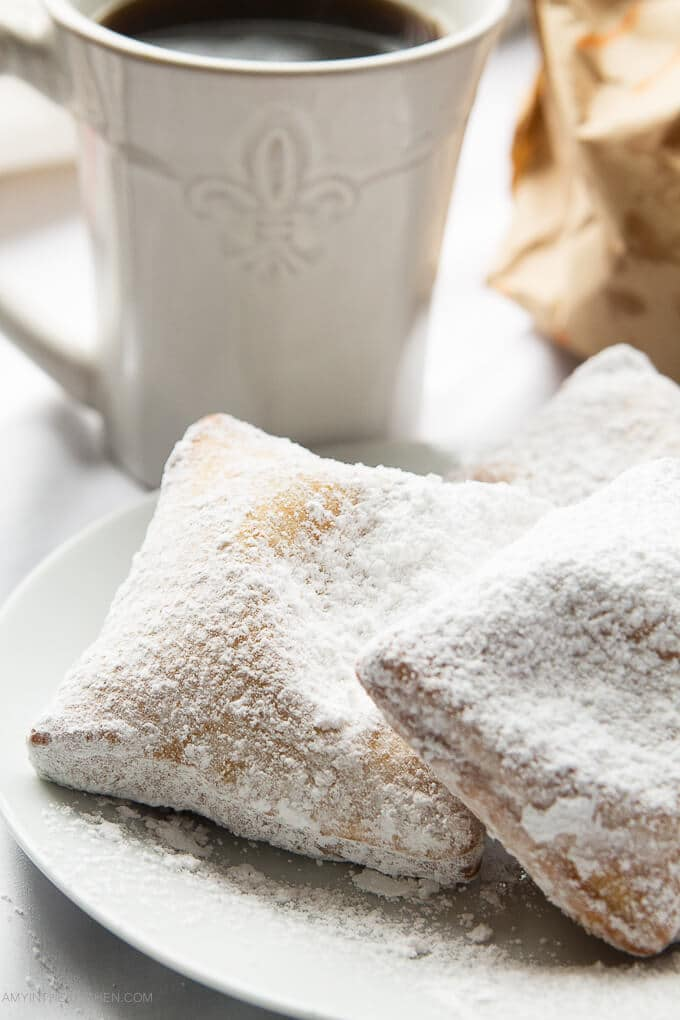 French Quarter Beignets from AmyintheKitchen.com