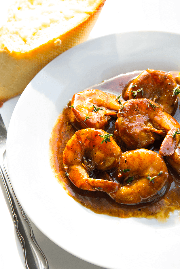 New Orleans BBQ Shrimp from AmyintheKitchen.com