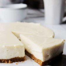 Simple Eggless Cheesecake Recipe