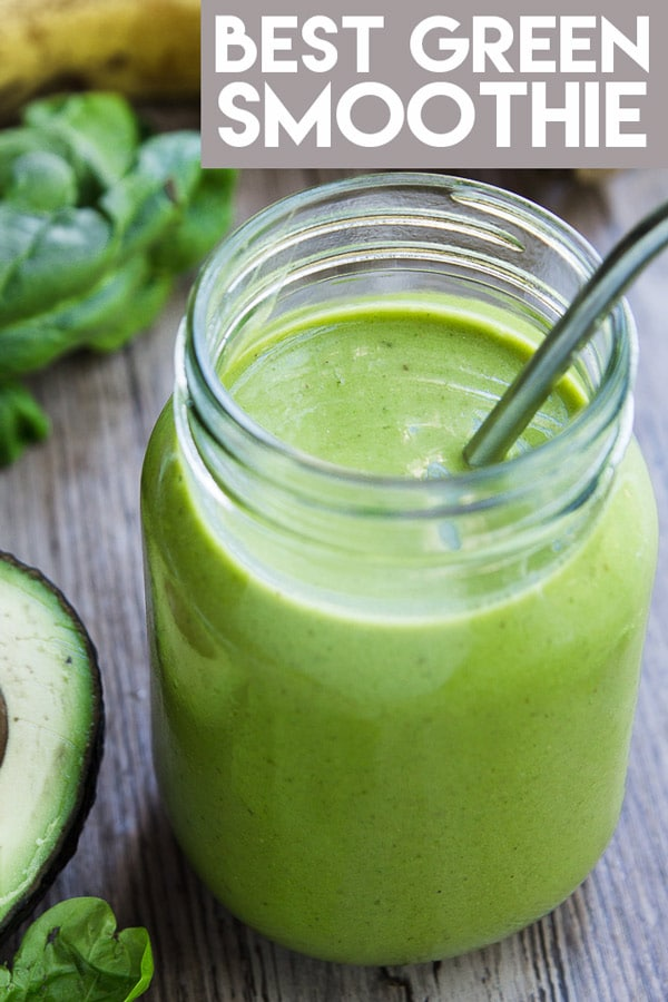 Green Smoothies are the perfect way to get your daily dose of greens! No counting calories or depriving yourself of delicious healthy food! #greensmoothie #smoothies #recipe #healthy #mealreplacement #healthysmoothie #smoothie