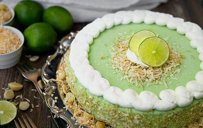 Key Lime Cheesecake - Amy in the Kitchen