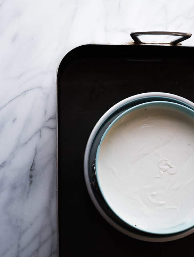 Learn how to make a leak proof water-bath for cheesecakes! My #1 tip for using a water-bath!