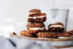 The Ultimate carrot cake cookies!