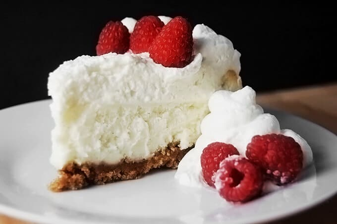 The Best Ever Vanilla Bean Cheesecake!