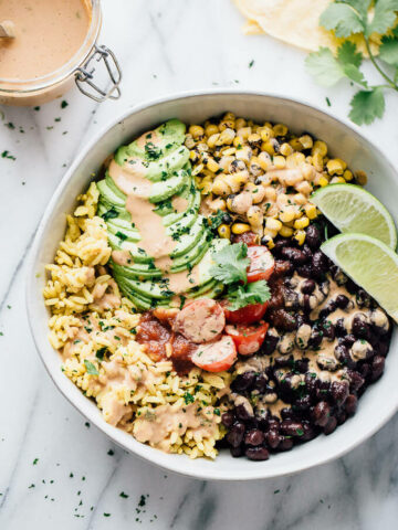Fiesta Black Bean Bowl Vegan