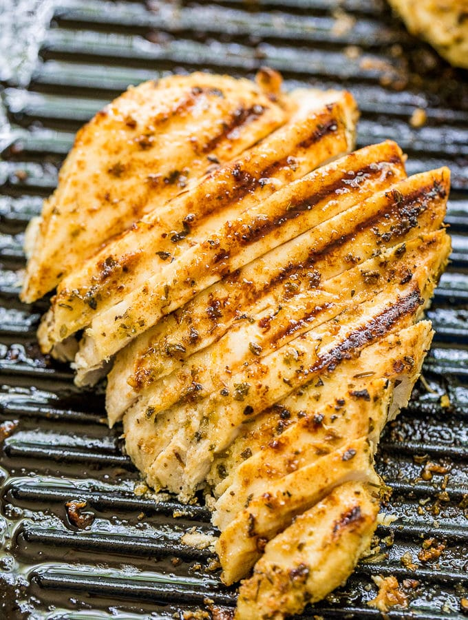 greek marinated grilled chicken breasts