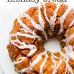 pumpkin cream cheese monkey bread recipe