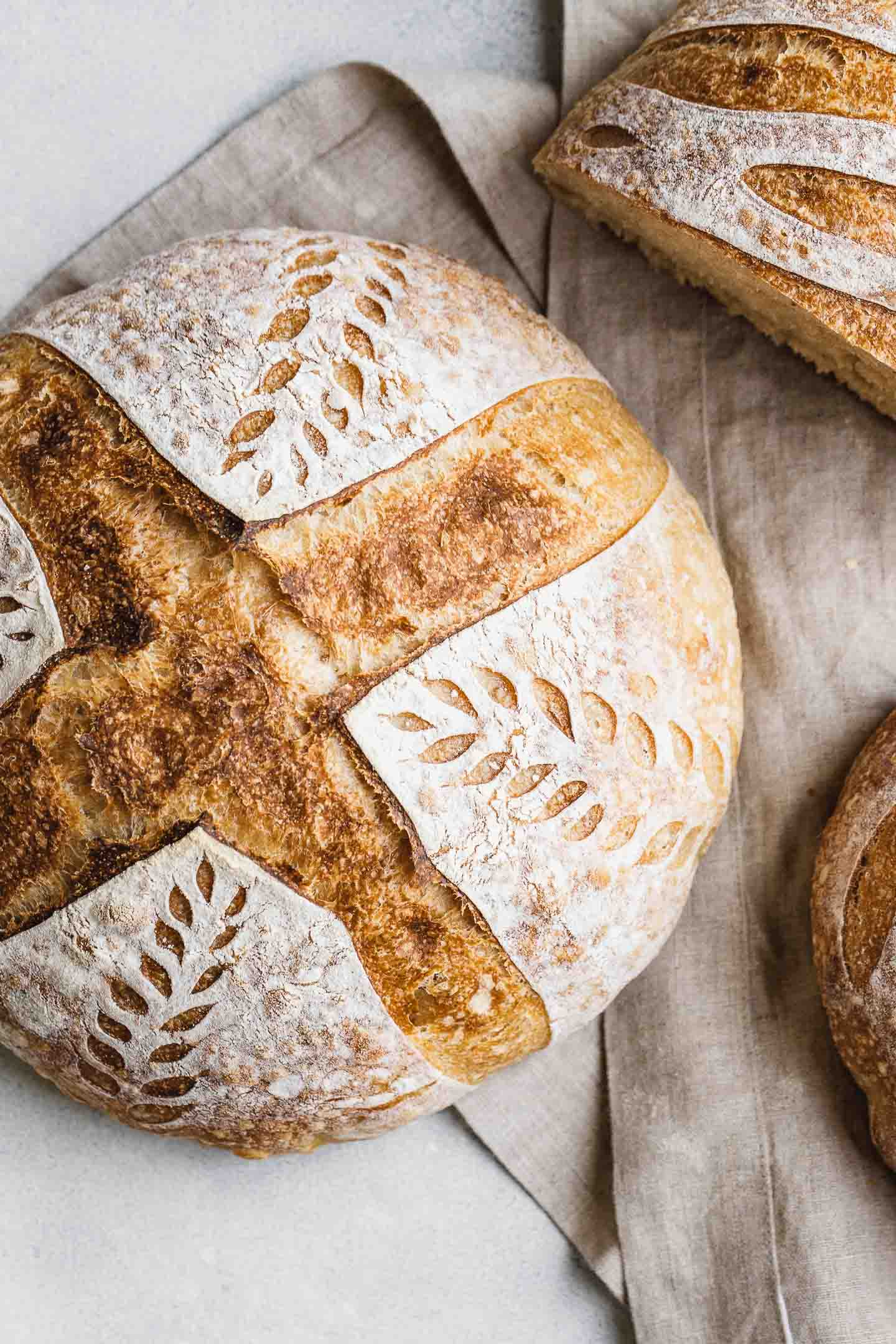 Sourdough Bread Recipe Simplified Step By Step Amy In The Kitchen