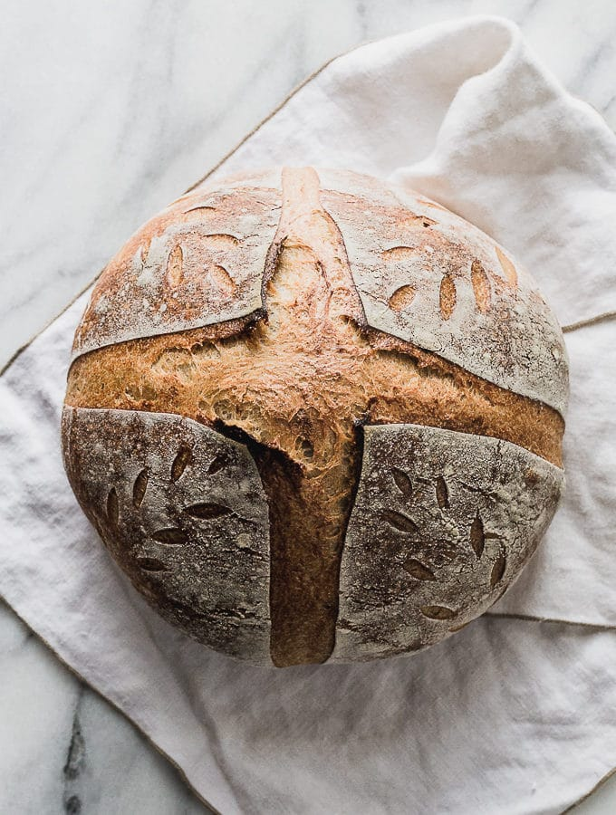 Beginners Sourdough Bread Recipe