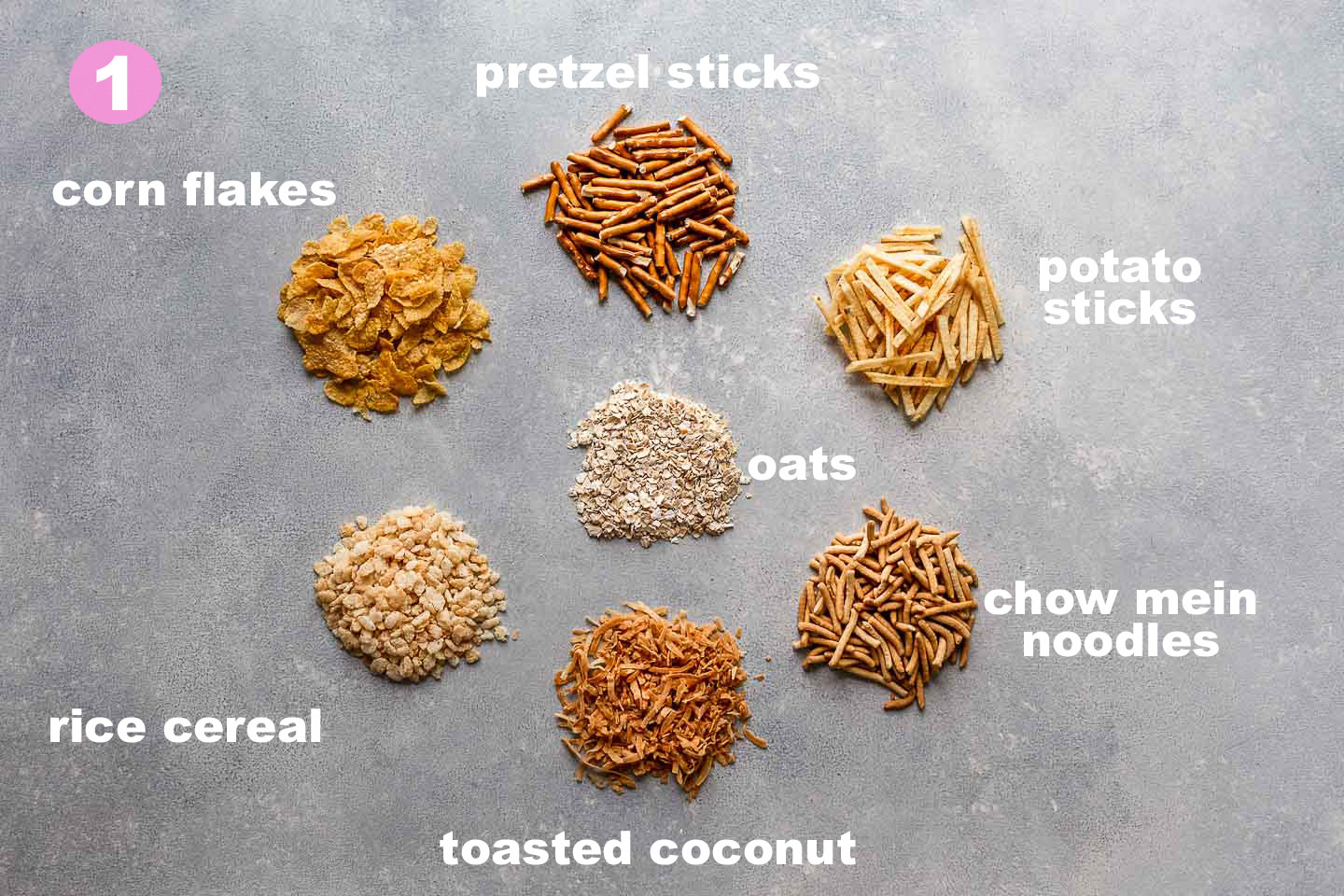 birds nest cookies base ingredient options