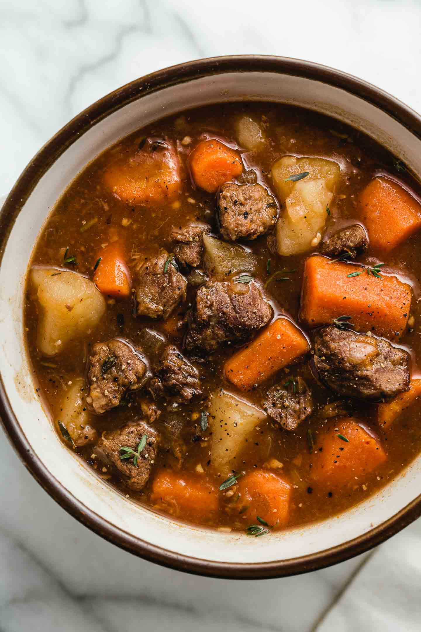 Instant Pot Beef Stew Step By Step Guide Amy In The Kitchen